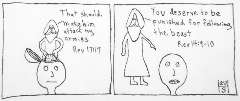 God Manipulates People